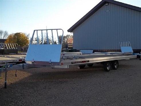 4 Place snowmobile trailer